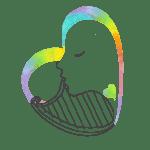 NUEVO.Logotipo Jugando con la Música Bebés gris